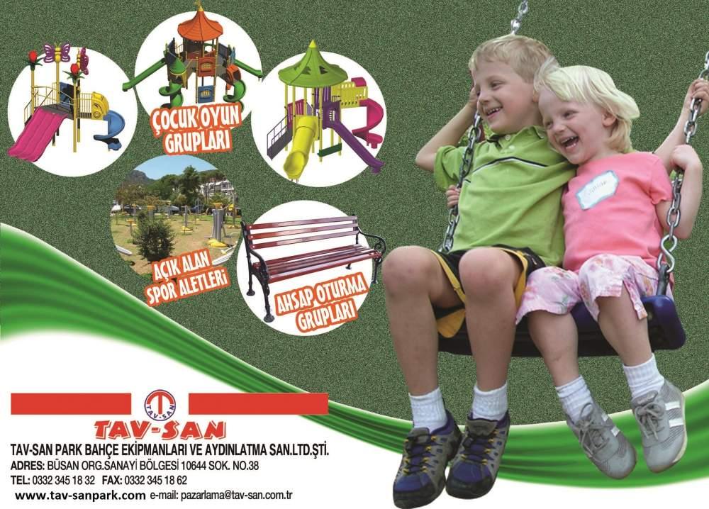 Tav-San Çocuk Oyun Grupları, Açık Hava Spor Aletleri ve Kent Mobilyaları