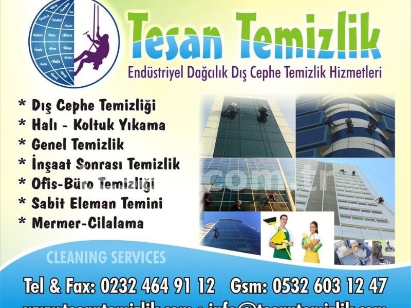Tesan Temizlik, Şti., İzmir