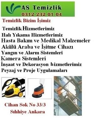 AS Temizlik, Şti, Ankara
