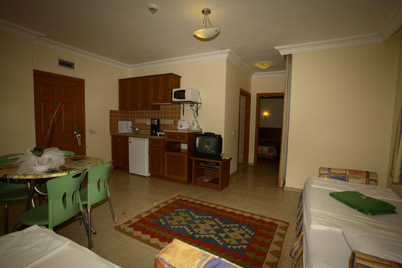 Sipariş 2 yatak odalı Apartlar