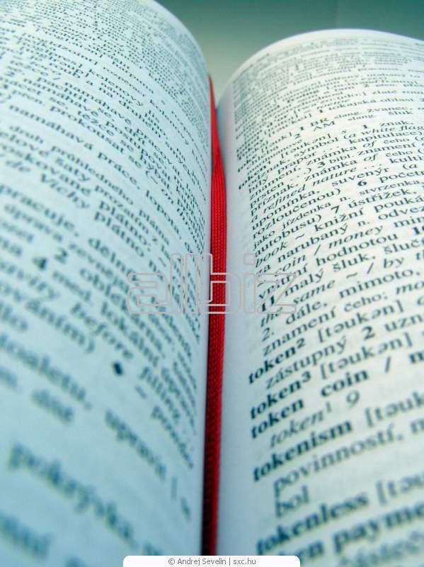 Sipariş Yazılı çeviri hizmetleri, tercümanlık, tercüme bürosu