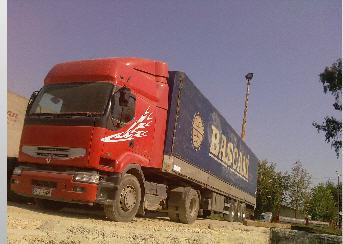Sipariş Yurtiçi ve yurtdışı karayolu yük taşımacılık hizmeti