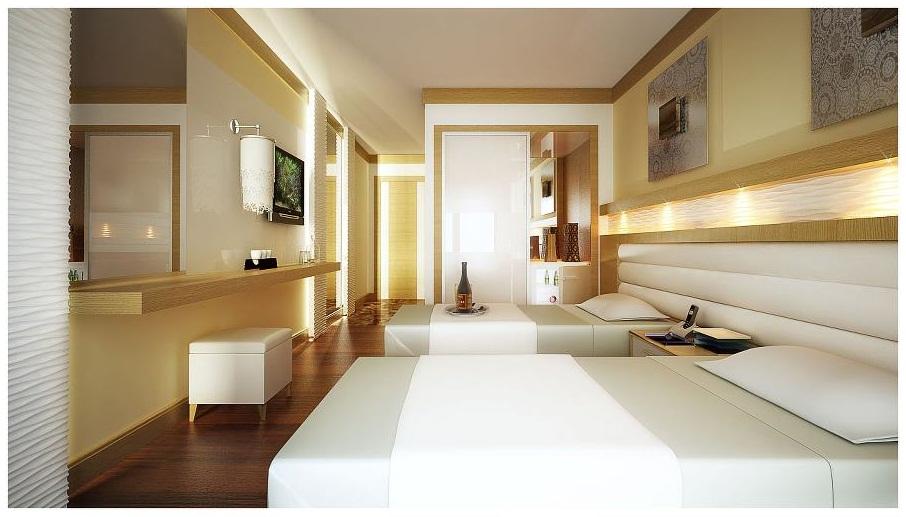Sipariş Otel Odası Mimari Tasarımı