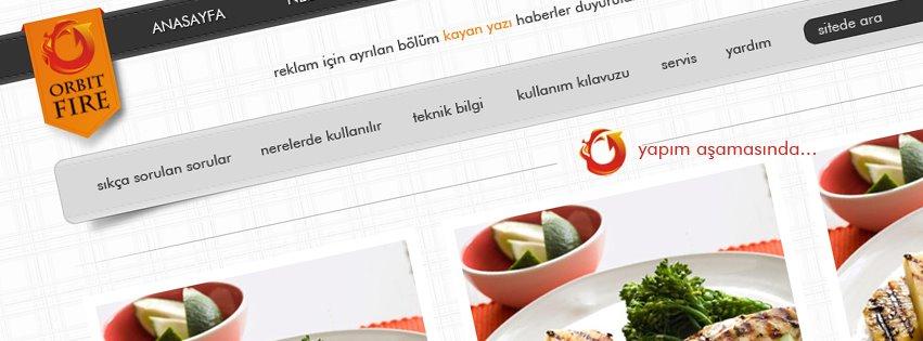 Sipariş Web Sitesi Tasarım ve Uygulama