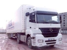 Sipariş Uluslararası taşıma