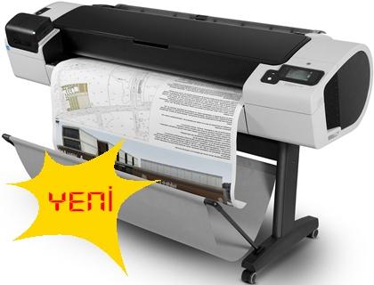 Sipariş HP Designjet T790 1118 mm ePrinter (CR649A)