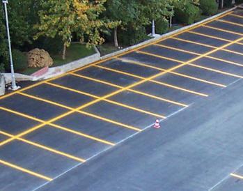 Sipariş Otopark ve yol çizgileri uygulaması