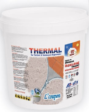 Thermal L'coupon termo coating paste