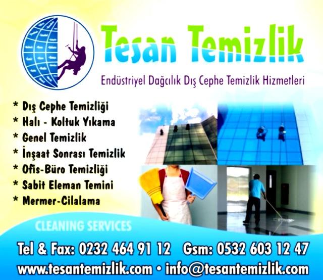 Sipariş Dış cephe cam temizliği İzmir