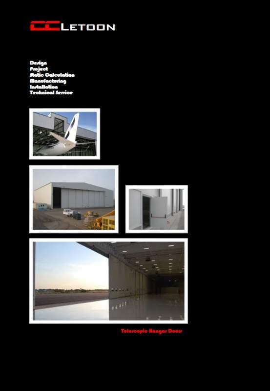 Sipariş Telescopic Hangar Door