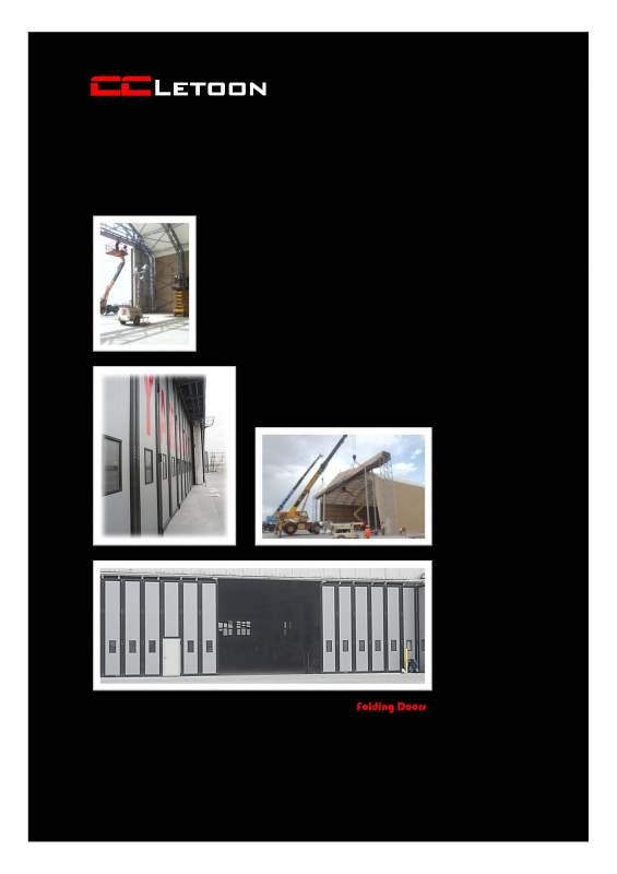 Sipariş Folding Hangar Door