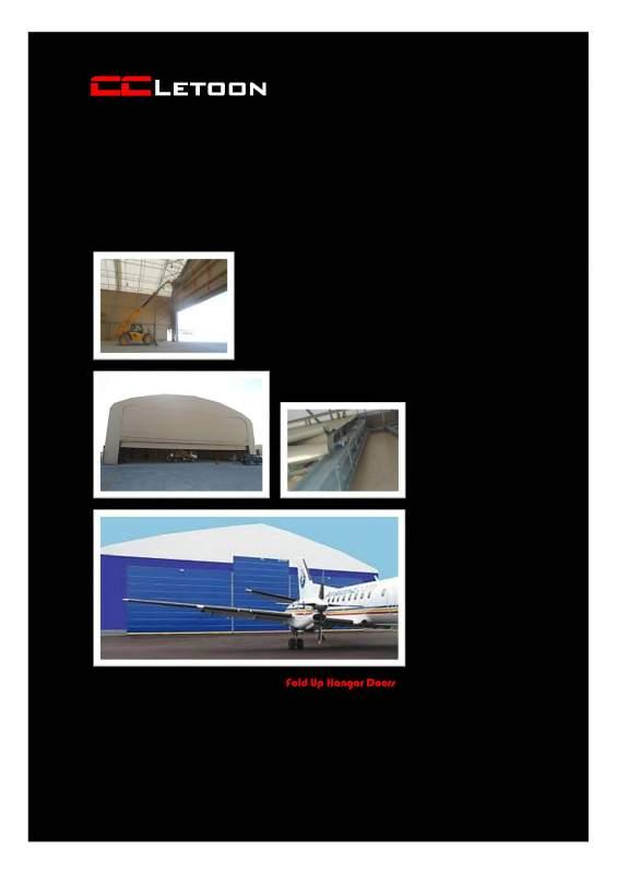 Sipariş Fold Up Hangar Door