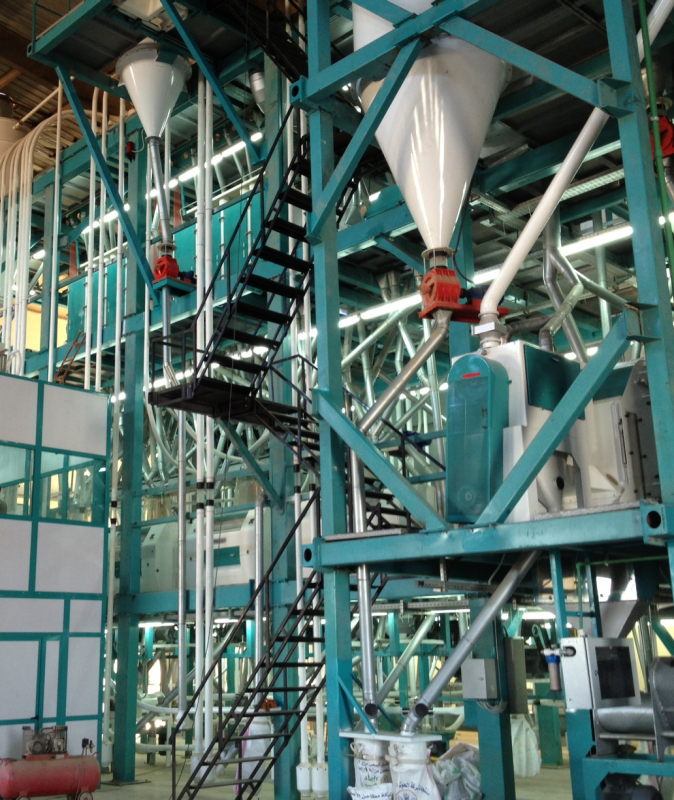 Sipariş TURNKEY DELIVERY FLOUR AND SEMOLINA MILLING LINES