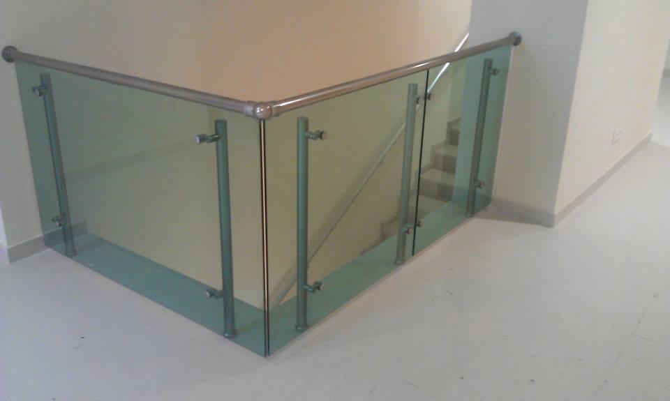 Sipariş Aluminium railing systems