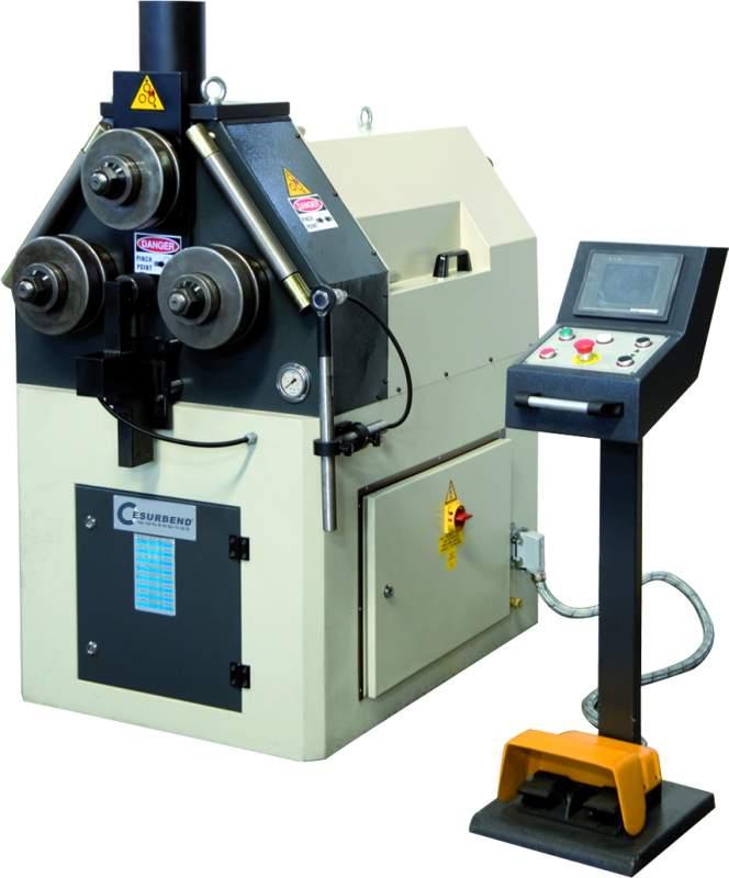 Sipariş Hidrolik profil ve boru kıvırma makinaları