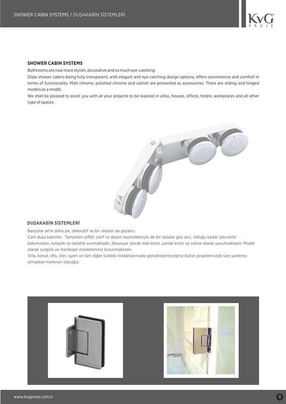 Sipariş Duşa Kabin Sistemleri