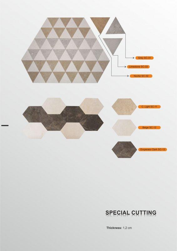 Sipariş Sipariş mozaik üretim