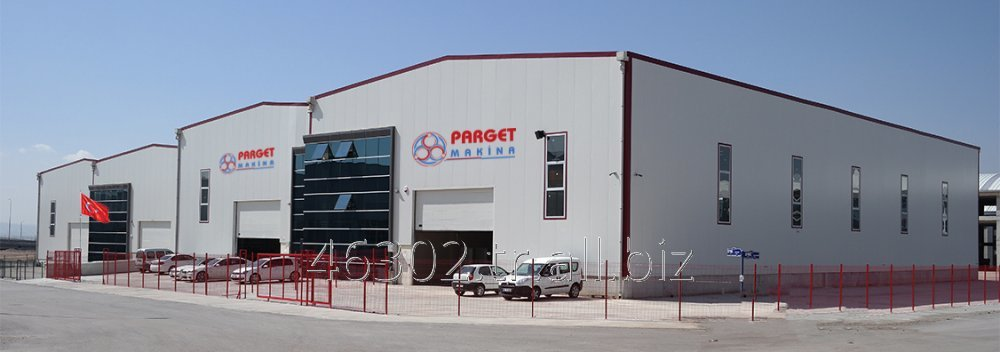 Sipariş Manufacturing, supply, engineering, projecting, consulting and aftersales services