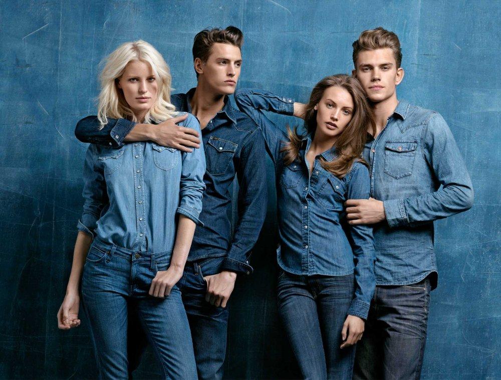 Sipariş Женская, мужская, детская джинсовая одежда