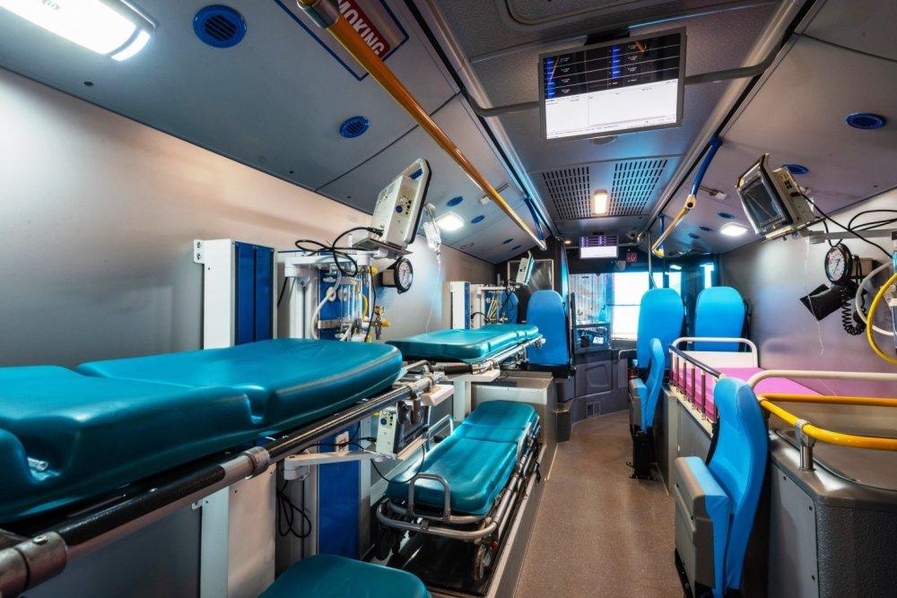 Order Ambulance car