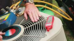 Havalandırma ve klima sistemlerin servis hizmetleri, tamir ve montajı