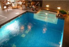 Yaz ve Kış Her Mevsim Kullanma İmkanı Yüzme Havuzu