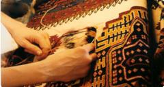 El dokuma halı tamiri