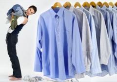 Kuru temizleme için donatım teslim etme hizmetleri
