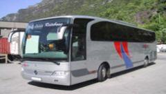 Kiralık      Otobüsler,      Mecedes      Travego.