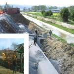 Atıksu ön arıtma tesisi ve derin deniz deşarjı inşaatı