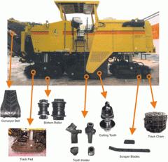 Asfalt ve Beton Makinaları yedek parça