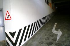 Otopark çizgileri ve otopark çizgisi yol çizgileri