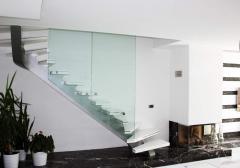 Omurgalı Lüks Çelik Merdiven