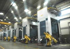 Production line installation