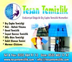 Dış cephe cam temizliği İzmir