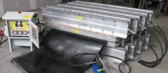 Belt splicing and roller covering service