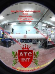 Paper tube machinery