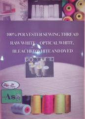POLY -  AS      POLYESTER  SEWİNG THREAD