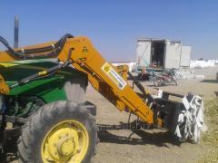 Traktör için ön yükleyici kepçe imalatı