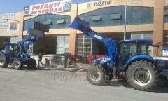 Traktör için ön yükleme kepçe imalatı