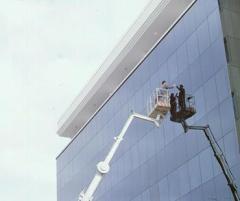 Cam temizliği işlemleri