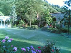 Otomatik bahçe sulama sistemi uygulamaları