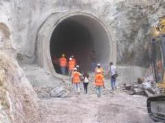 Tünel inşaat işleri