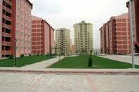 بناء المساكن وكتلة كبيرة الحجم