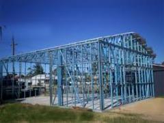 Çelik konstrüksiyonların imalatı