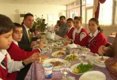 Okul, hastane, yurt ve huzurevlerine yemek