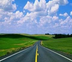 Otoyol, devlet yolu ve demiryolu