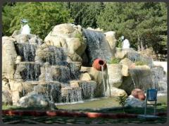 Şelaleler ve Havuzlar Yerleştirilmesi