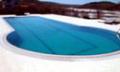 Yazı Yüzerek ve Serin Geçirmek İçin Havuz